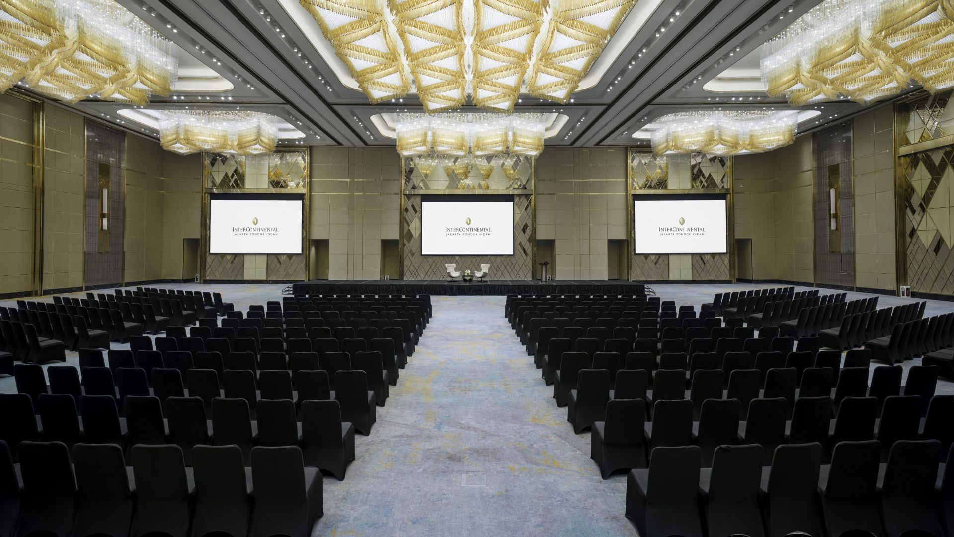 | Grand Ballroom - Theater Setup